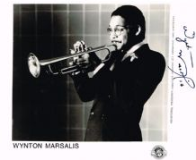 Wynton Marsalis Autograph Signed Photo